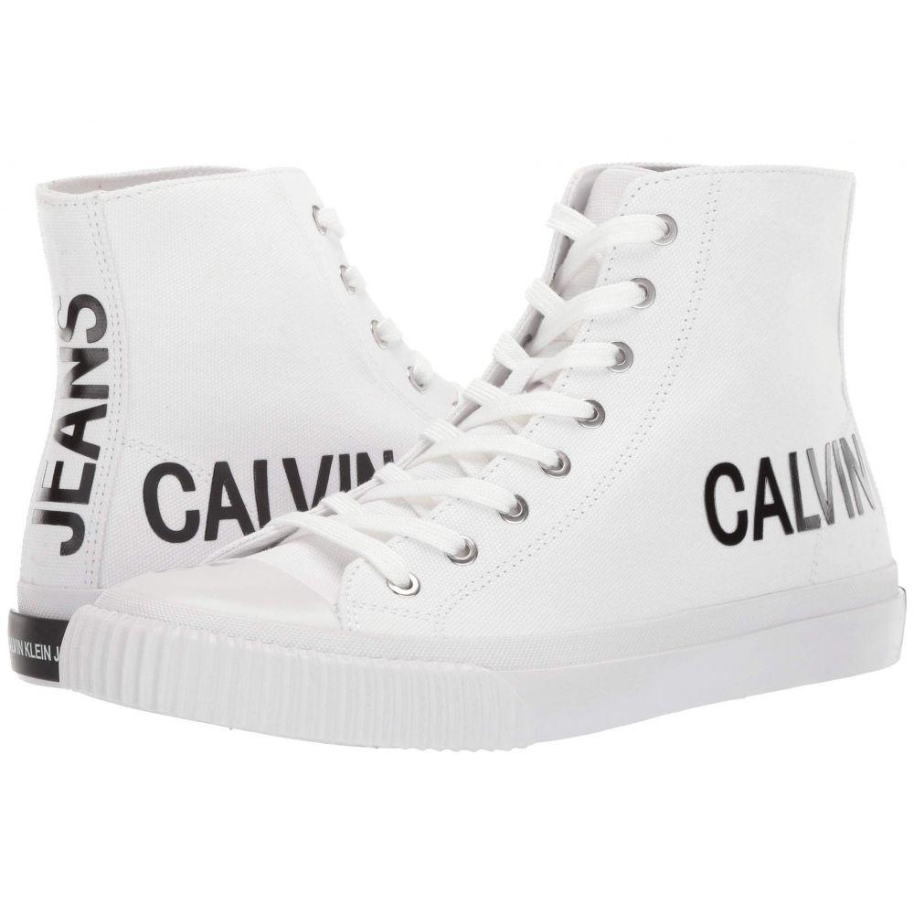 カルバンクライン Calvin Klein メンズ スニーカー シューズ・靴【Iacopo】Bright White