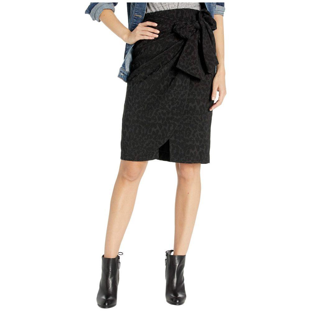 ビーシービージーマックスアズリア BCBGMAXAZRIA レディース スカート ラップスカート【Wrap Front Skirt】Black