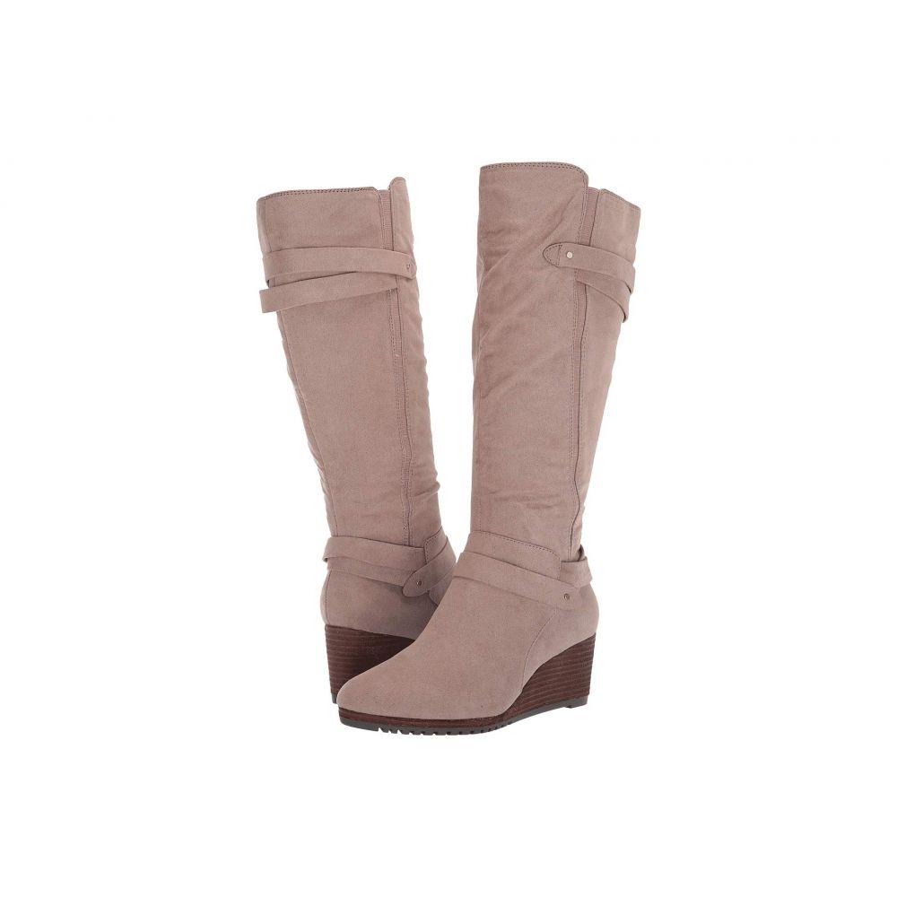 ドクター ショール Dr. Scholl's レディース ブーツ シューズ・靴【Check It Wide Calf】Taupe Grey
