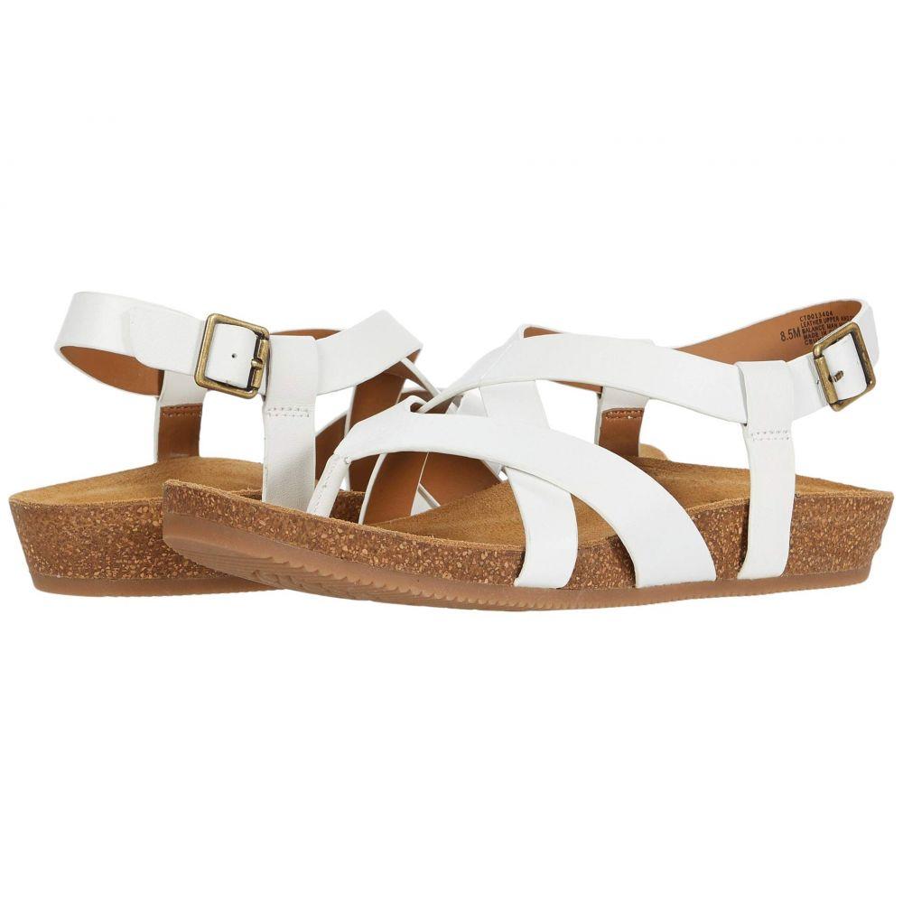 コンフォーティヴァ Comfortiva レディース サンダル・ミュール シューズ・靴【Gamora】White