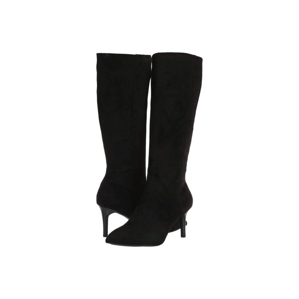 ロックポート Rockport レディース ブーツ シューズ・靴【Total Motion Ariahnna Plain Tall Boot】Black Faux Suede