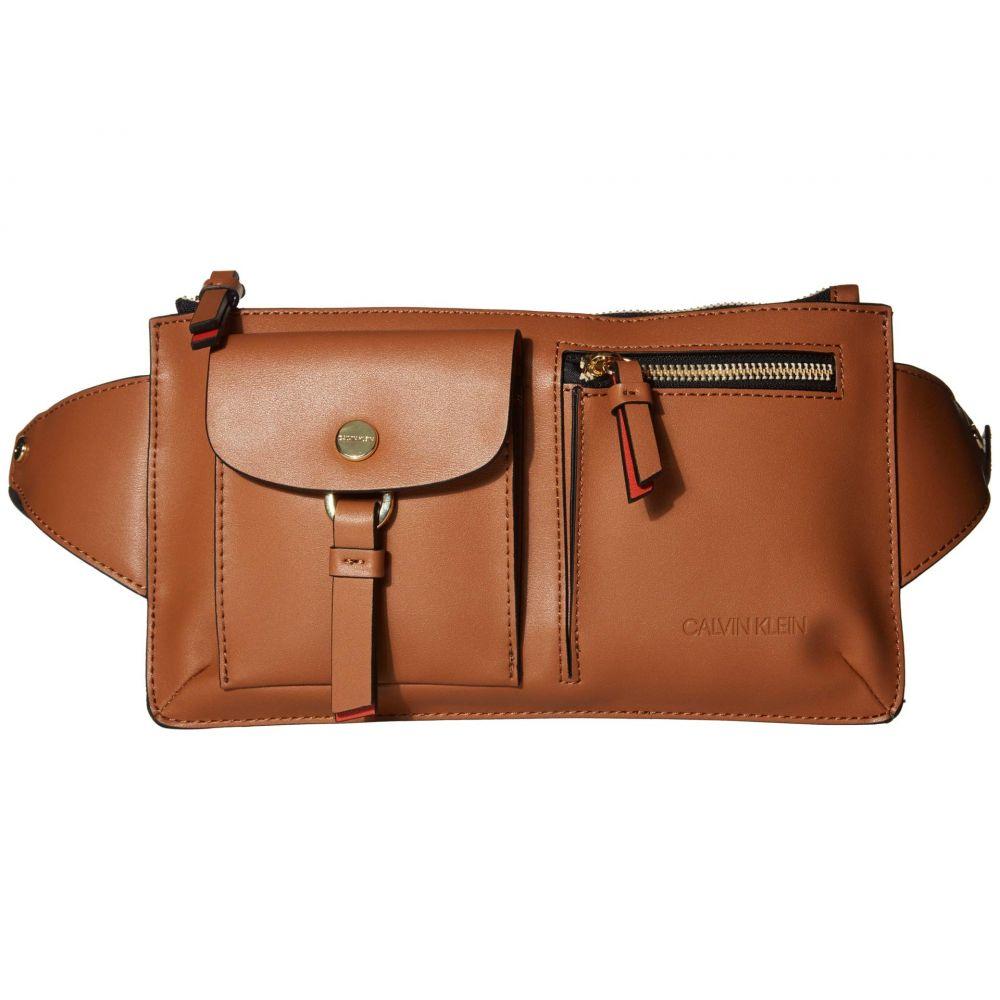 カルバンクライン Calvin Klein レディース ボディバッグ・ウエストポーチ バッグ【Rossa Smooth PU Belt Bag】Neutral Combo
