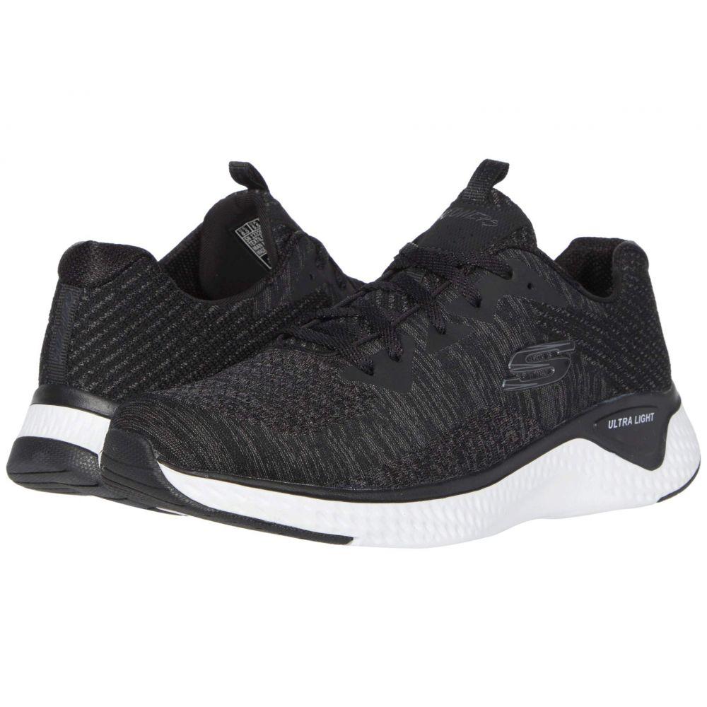 スケッチャーズ SKECHERS レディース スニーカー シューズ・靴【Solar Fuse - Brisk Escape】Black/White