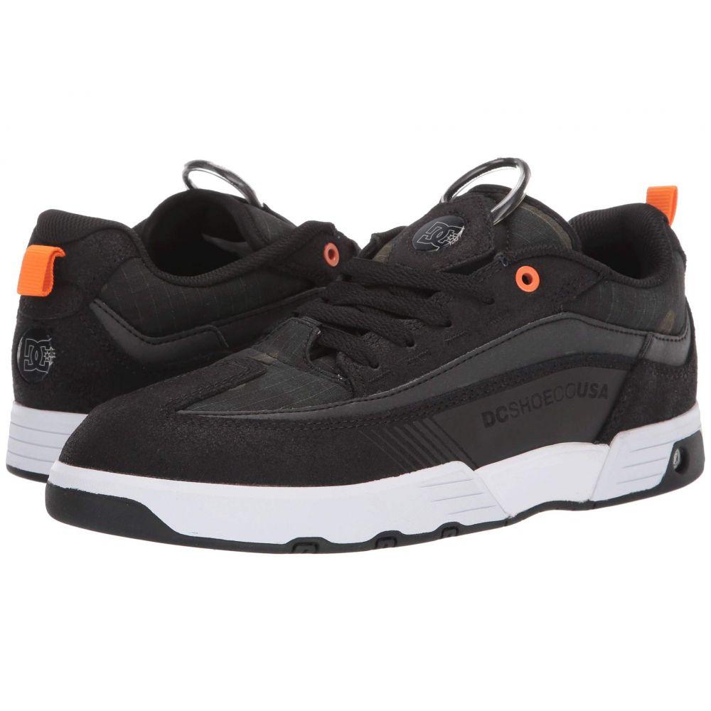 ディーシー DC メンズ スニーカー シューズ・靴【Legacy 98 Slim】Black/Black/Orange