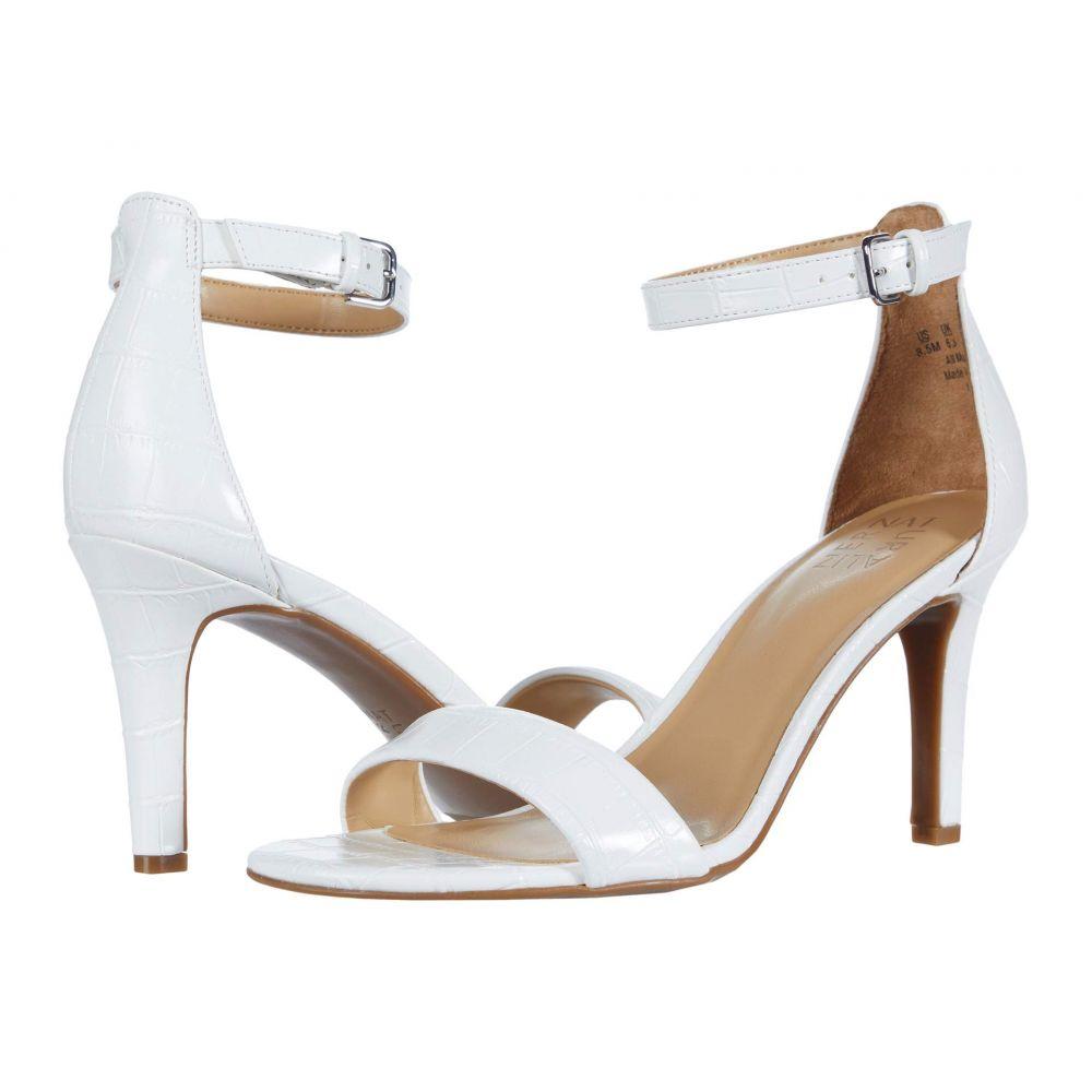 ナチュラライザー Naturalizer レディース サンダル・ミュール シューズ・靴【Leah】White Croco Synthetic