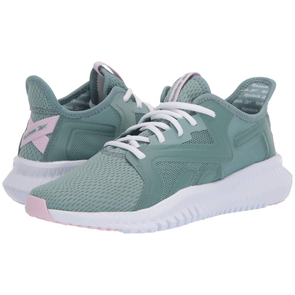 リーボック Reebok レディース ランニング・ウォーキング シューズ・靴【Flexagon 3.0】Green Slate/Pixel Pink/White