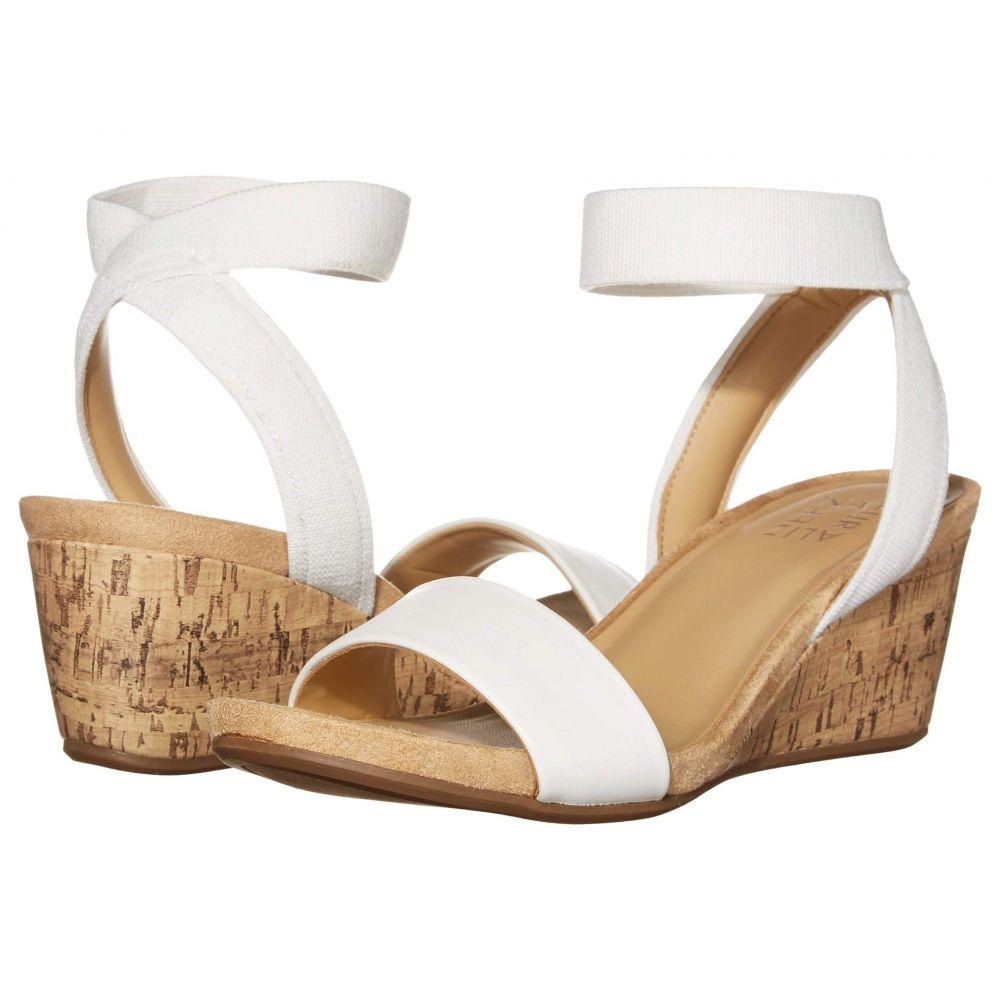 ナチュラライザー Naturalizer レディース サンダル・ミュール シューズ・靴【Angela】White Smooth