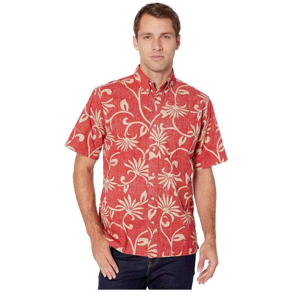 レインスプーナー Reyn Spooner メンズ シャツ トップス【Polynesian Pareau Button Front】Pompeian Red