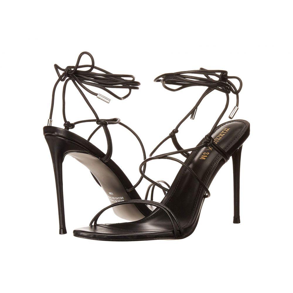 スティーブ マデン Steve Madden レディース サンダル・ミュール シューズ・靴【Winnie Harlow x Badgirl Heeled Sandal】Black Leather