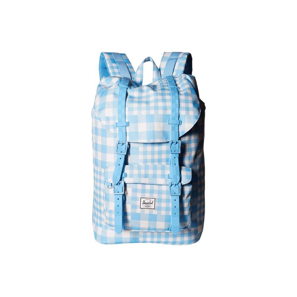 ハーシェル サプライ Herschel Supply Co. ユニセックス バックパック・リュック バッグ【Little America Mid-Volume】Gingham Alaskan Blue/Rubber