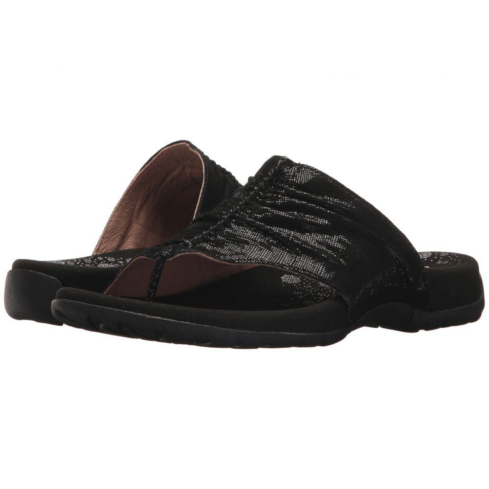 タオス Taos Footwear レディース サンダル・ミュール シューズ・靴【Gift 2】Black Printed Leather