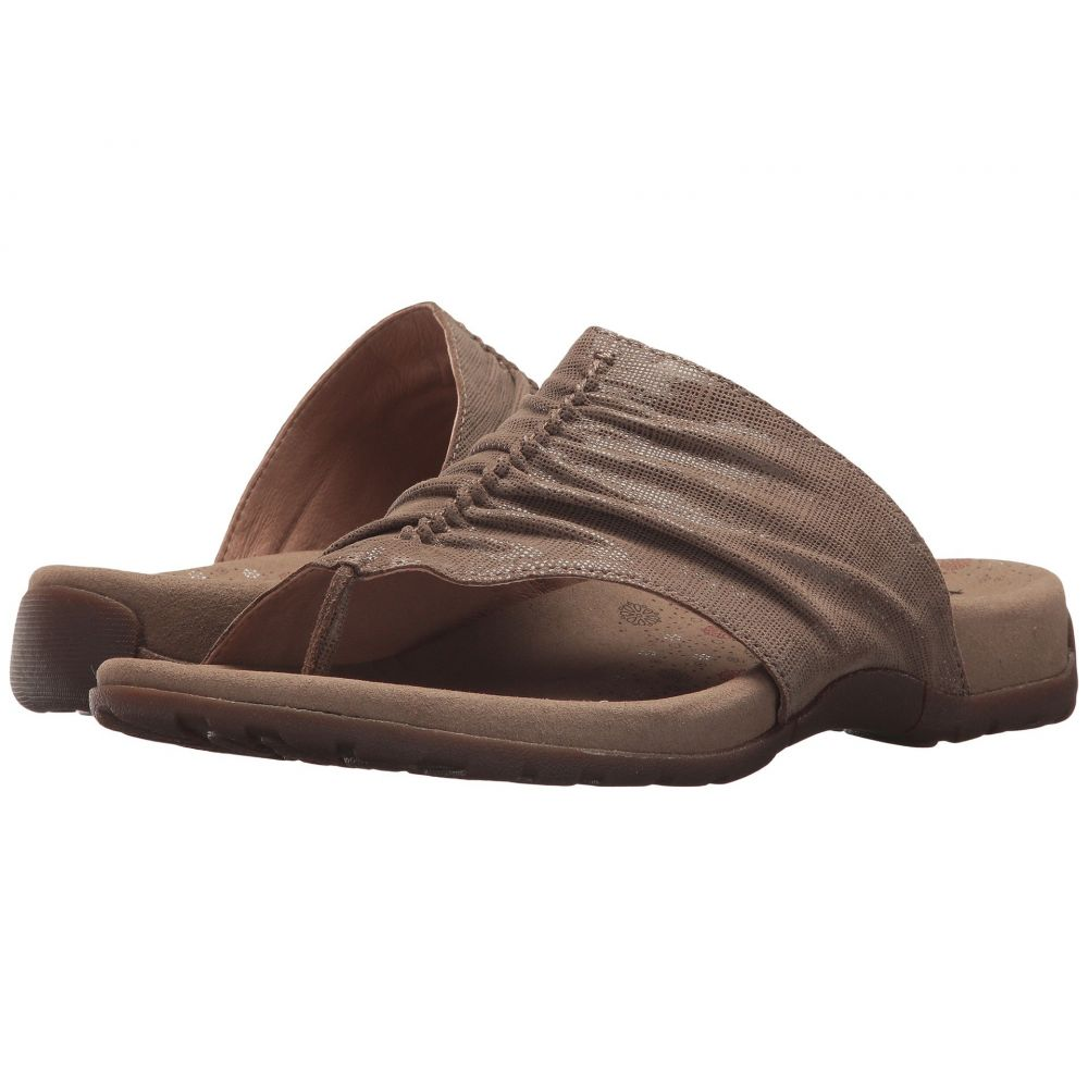 タオス Taos Footwear レディース サンダル・ミュール シューズ・靴【Gift 2】Taupe Printed Leather