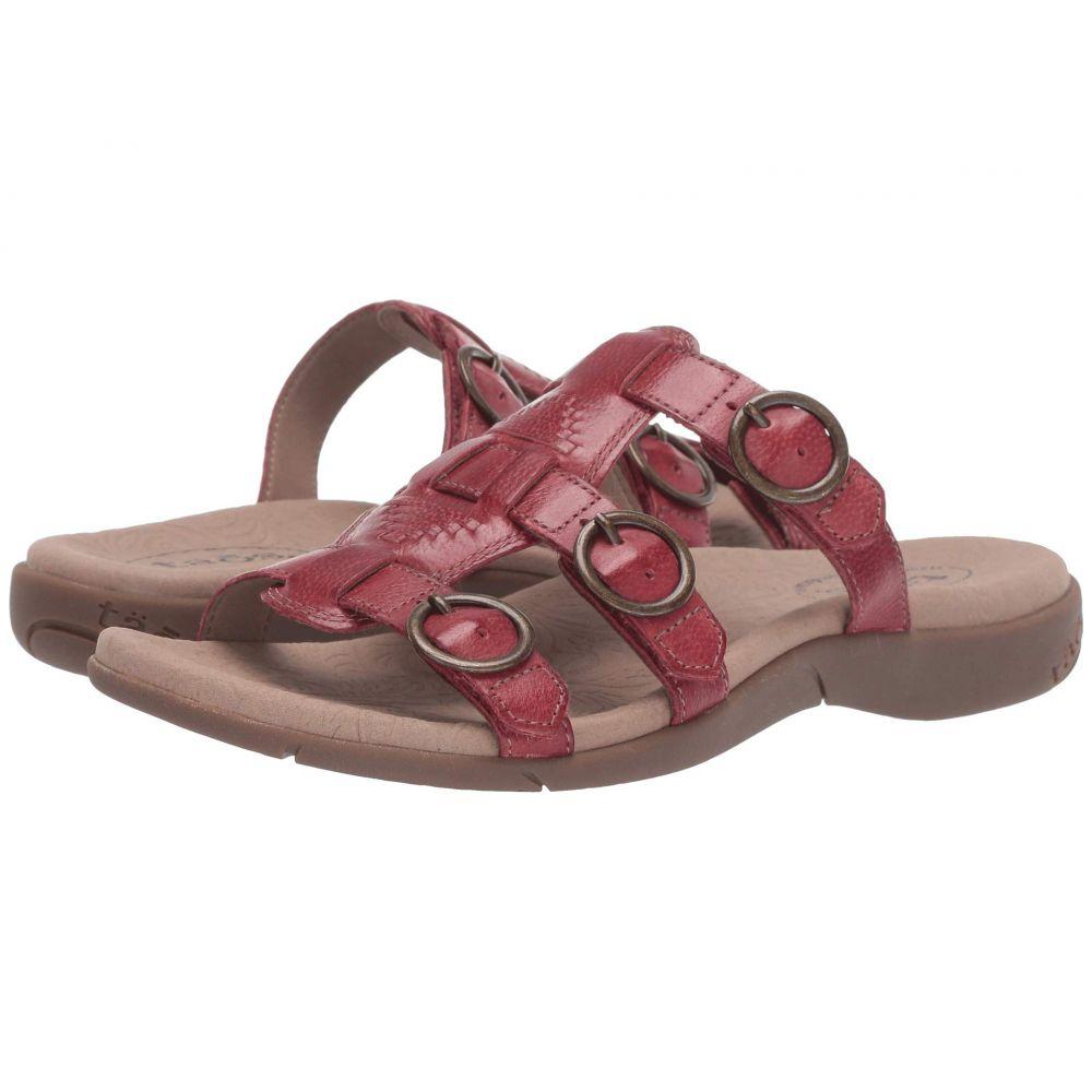 タオス Taos Footwear レディース サンダル・ミュール シューズ・靴【Good Times】Red