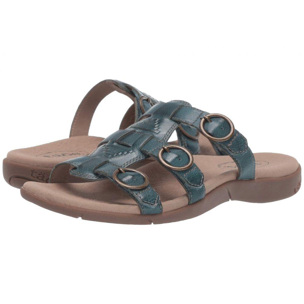 タオス Taos Footwear レディース サンダル・ミュール シューズ・靴【Good Times】Teal
