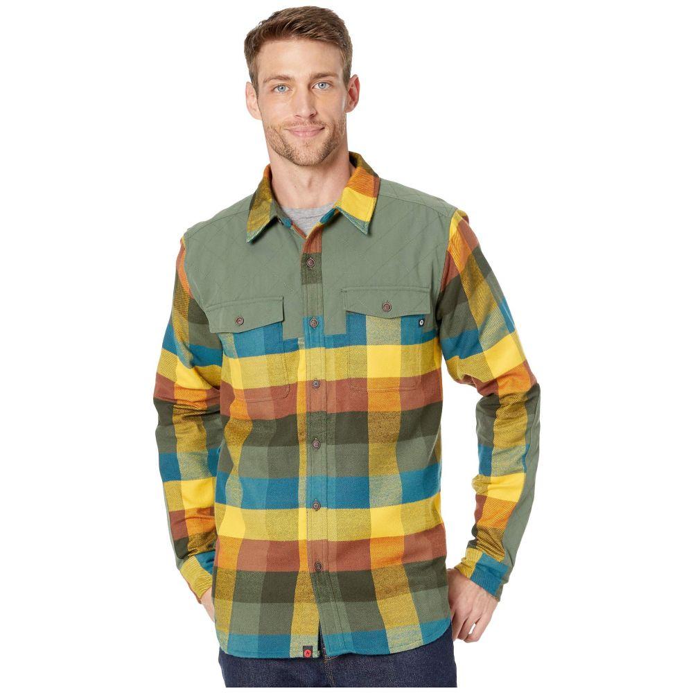 マーモット Marmot メンズ シャツ フランネルシャツ トップス【Needle Peak Midweight Flannel Long Sleeve Shirt】Crocodile