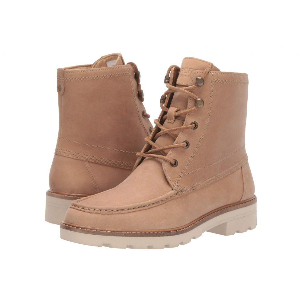 スペリートップサイダー Sperry レディース ブーツ シューズ・靴【A/O Leather Lug Boot】Sand