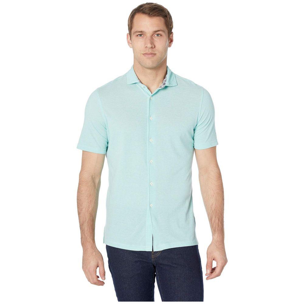 ブガッチ BUGATCHI メンズ 半袖シャツ トップス【Julian Short Sleeve Button-Up Shirt】Mint