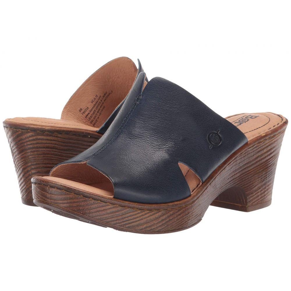 ボーン Born レディース サンダル・ミュール シューズ・靴【Queens】Navy