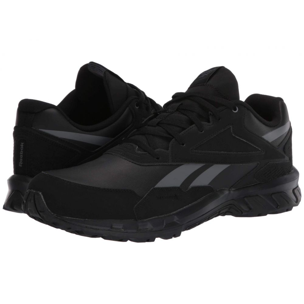リーボック Reebok メンズ スニーカー シューズ・靴【Ridgerider 5.0】Black/Pure Grey/Radiant Red Leather