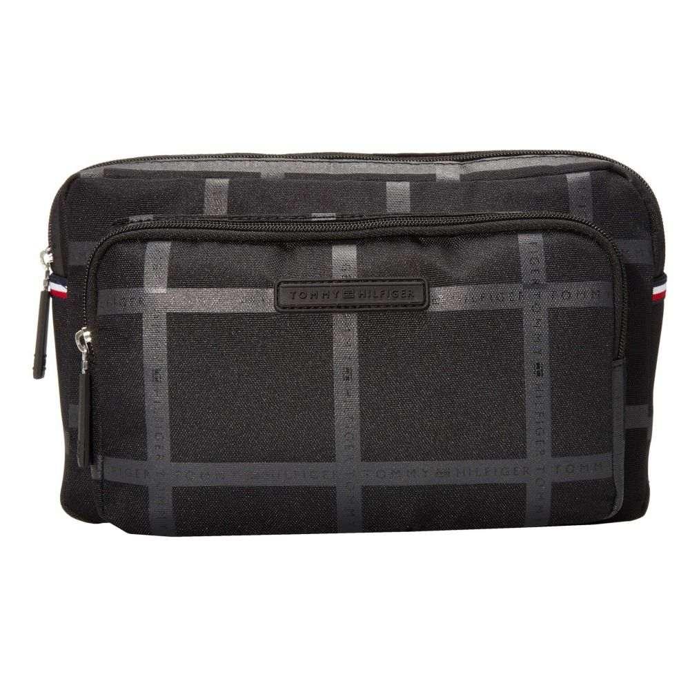 トミー ヒルフィガー Tommy Hilfiger メンズ ボディバッグ・ウエストポーチ バッグ【Alexander - Belt Bag - Logo Print】Black Tonal