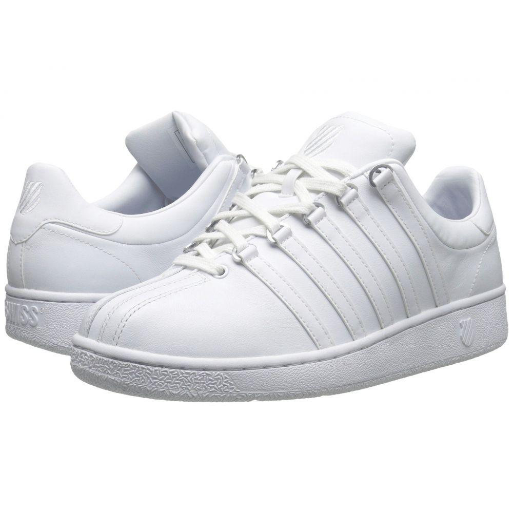 ケースイス K-Swiss レディース スニーカー シューズ・靴【Classic VN】White/White