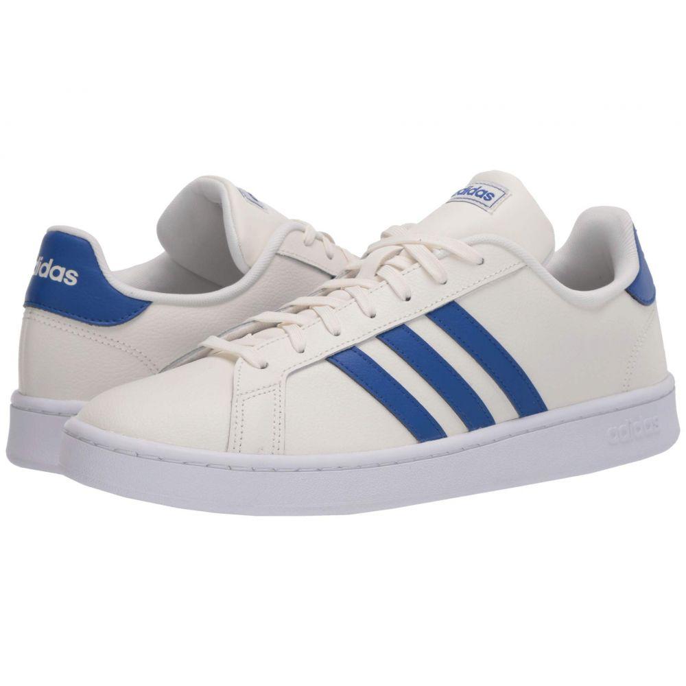 アディダス adidas メンズ スニーカー シューズ・靴【Grand Court】Cloud White/Team Royal Blue/Footwear White