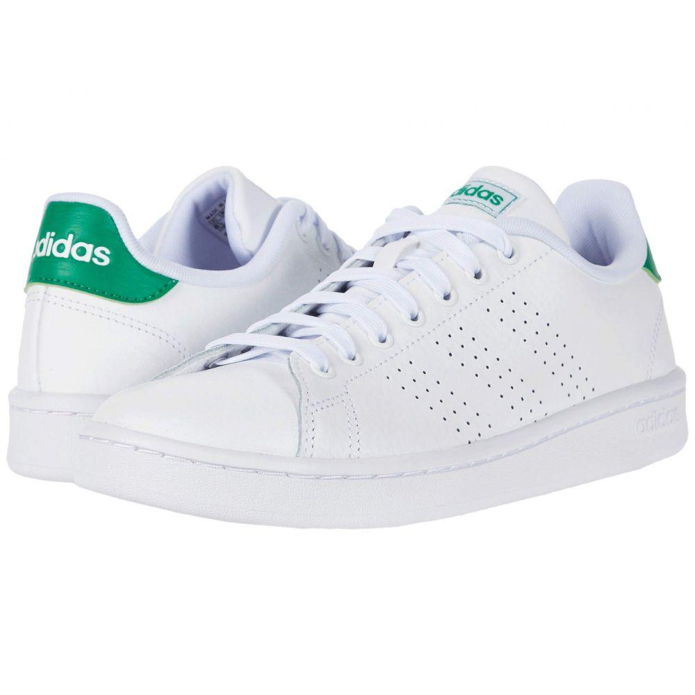 アディダス adidas レディース スニーカー シューズ・靴【Advantage】White/White/Green