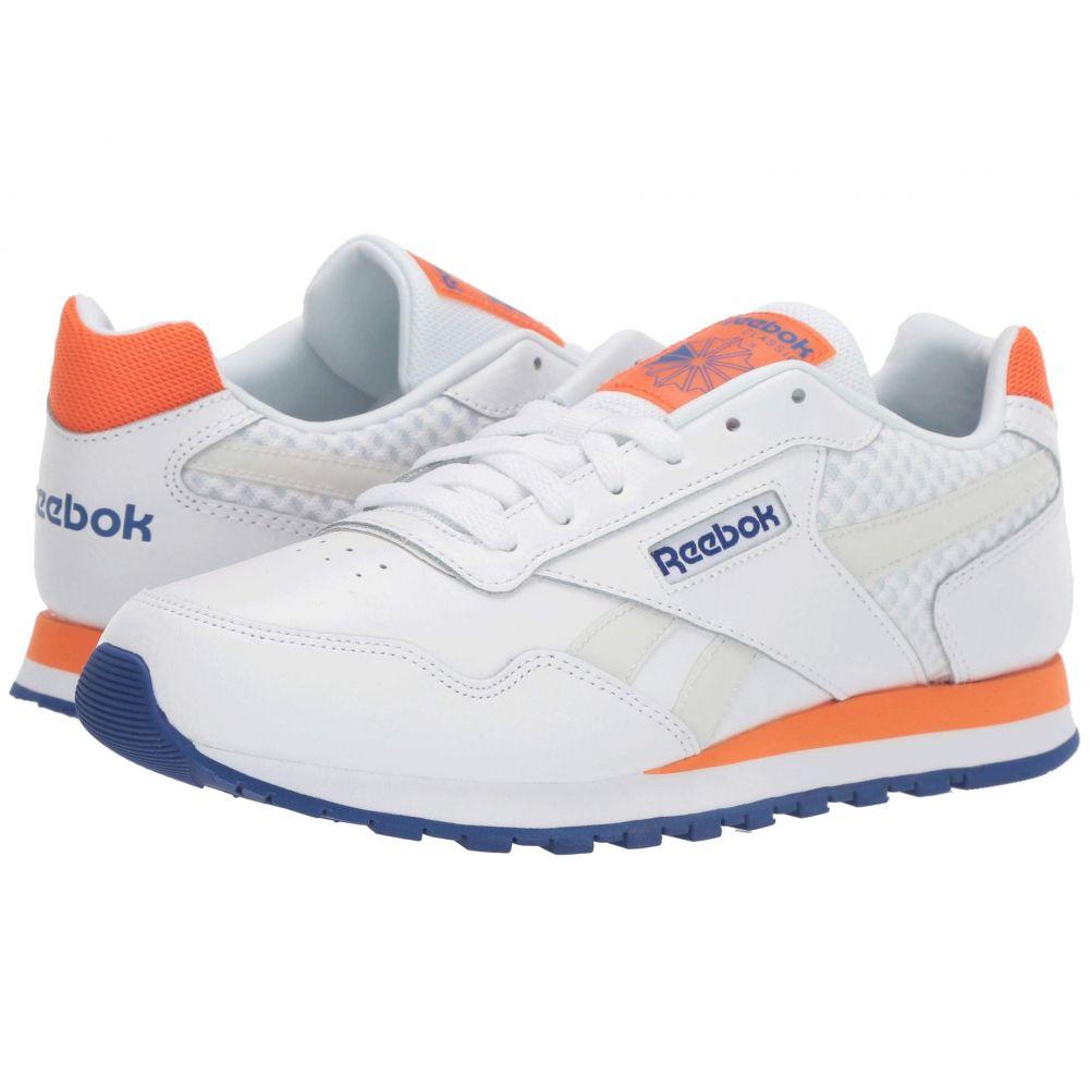 リーボック Reebok メンズ スニーカー シューズ・靴【CL Harman Run LT】Us-White/Cobalt/Orange/Grey