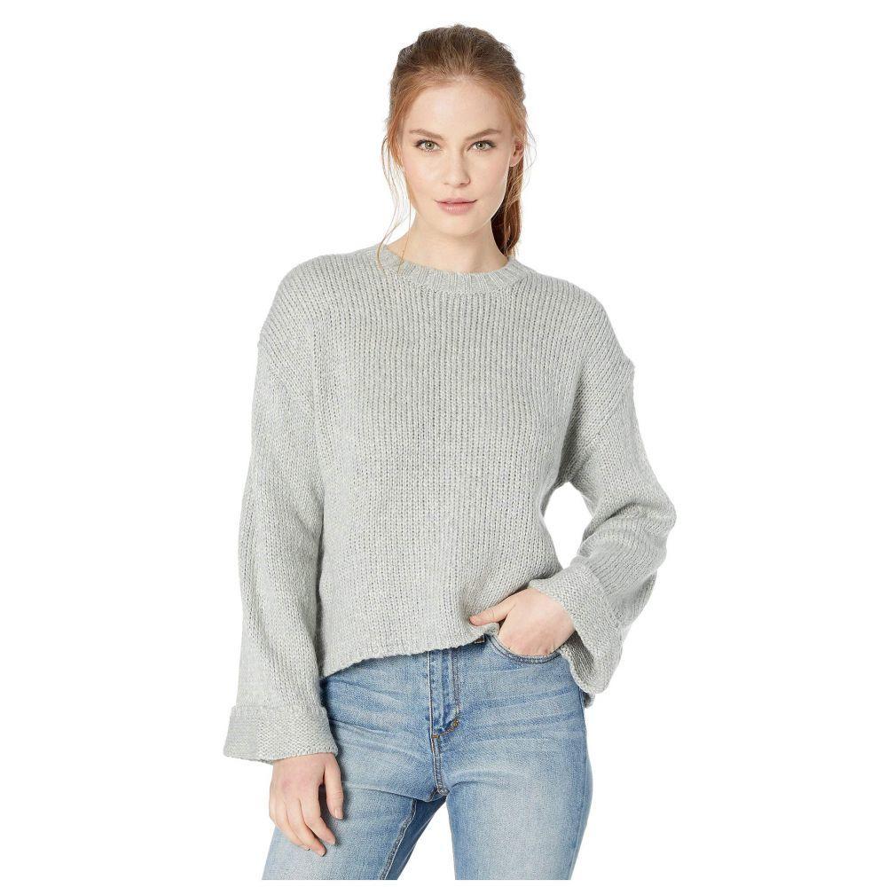 カーヴデザイン Carve Designs レディース ニット・セーター トップス【Estes Crop Sweater】Limestone Heather