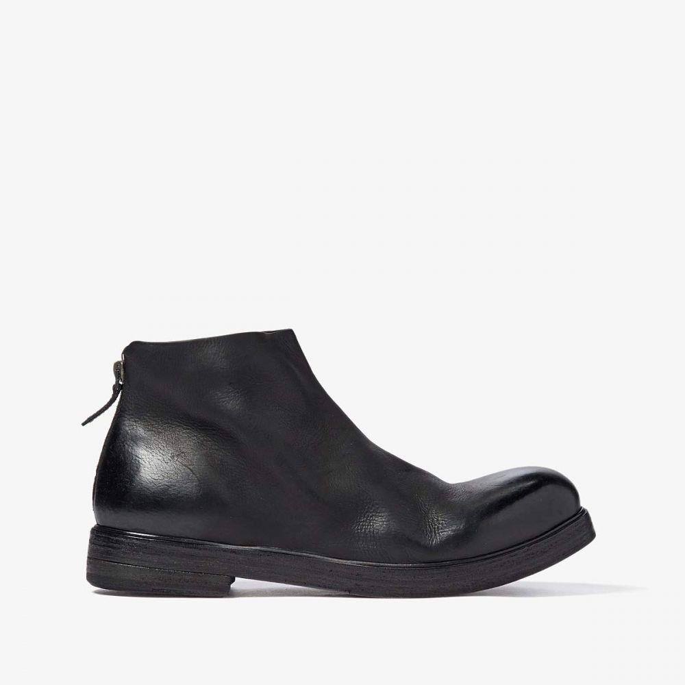 マルセル Marsell メンズ ブーツ シューズ・靴【Classic Back-Zip Boot】Black