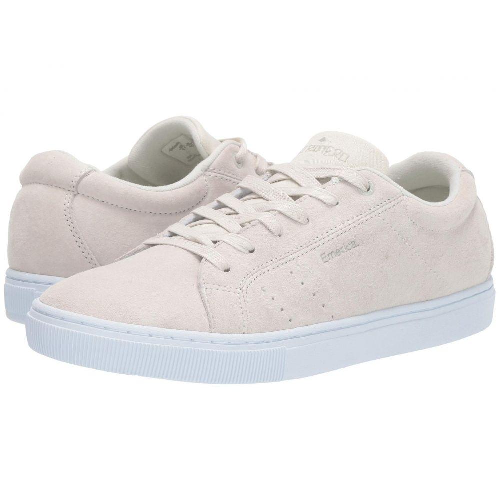 エメリカ Emerica メンズ スニーカー シューズ・靴【Americana】White/White