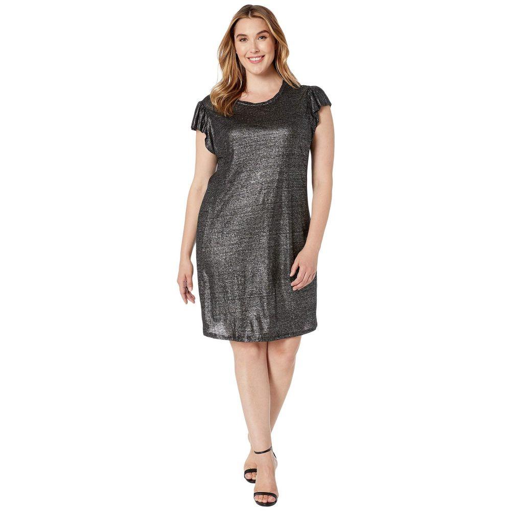 マイケル コース MICHAEL Michael Kors レディース ワンピース 大きいサイズ ワンピース・ドレス【Plus Size Linen Ruffle Dress】