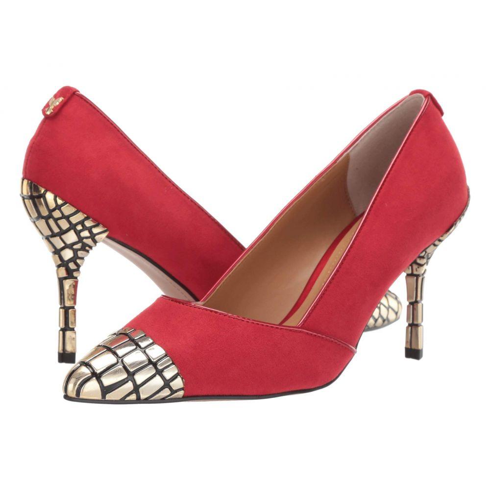 ジェイレニー J. Renee レディース パンプス シューズ・靴【Charleesa】Red/Red