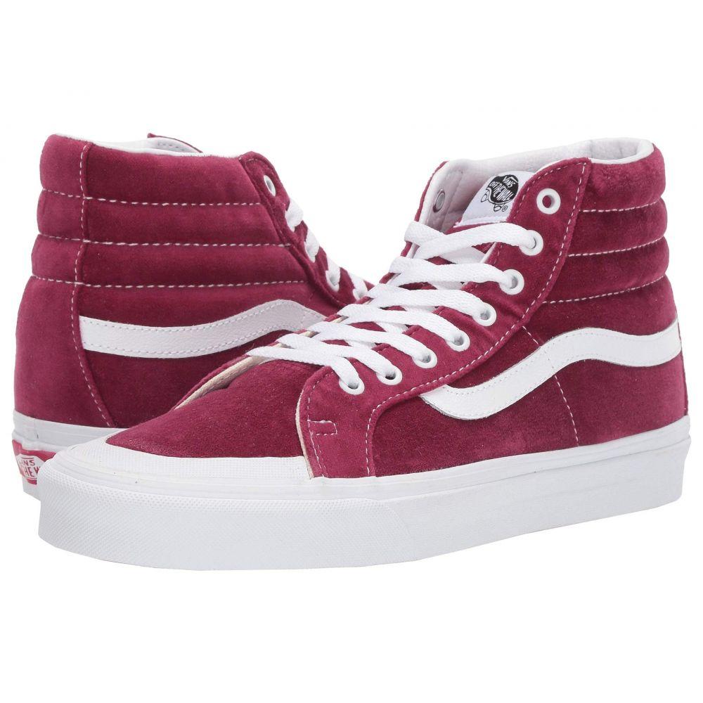 ヴァンズ Vans レディース スニーカー シューズ・靴【Sk8-Hi Reissue 138】Beet Red/True White