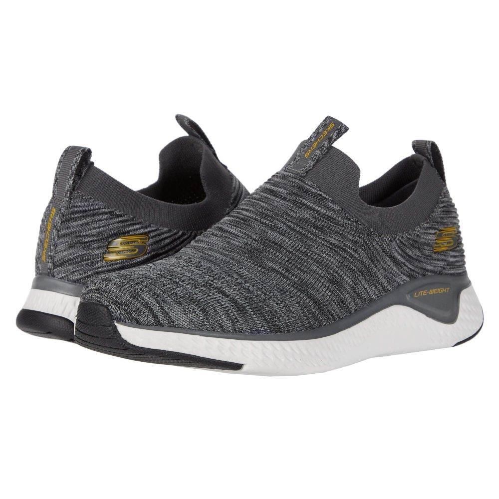 スケッチャーズ SKECHERS メンズ スニーカー シューズ・靴【Solar Fuse】Charcoal/Gray