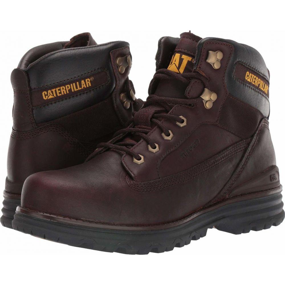 キャピタラー カジュアル Caterpillar Casual メンズ ブーツ シューズ・靴【Baseplate Waterproof Soft Toe】Espresso