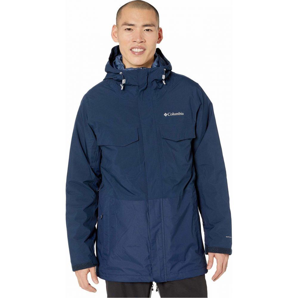 コロンビア Columbia メンズ ジャケット アウター【Cushman Crest Interchange Jacket】Collegiate Navy