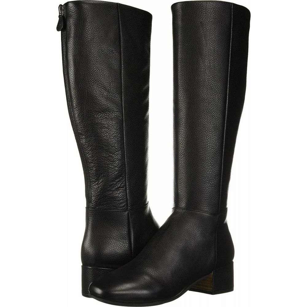 ケネス コール Gentle Souls by Kenneth Cole レディース ブーツ シューズ・靴【Ella Back Zip Boot】Black Leather