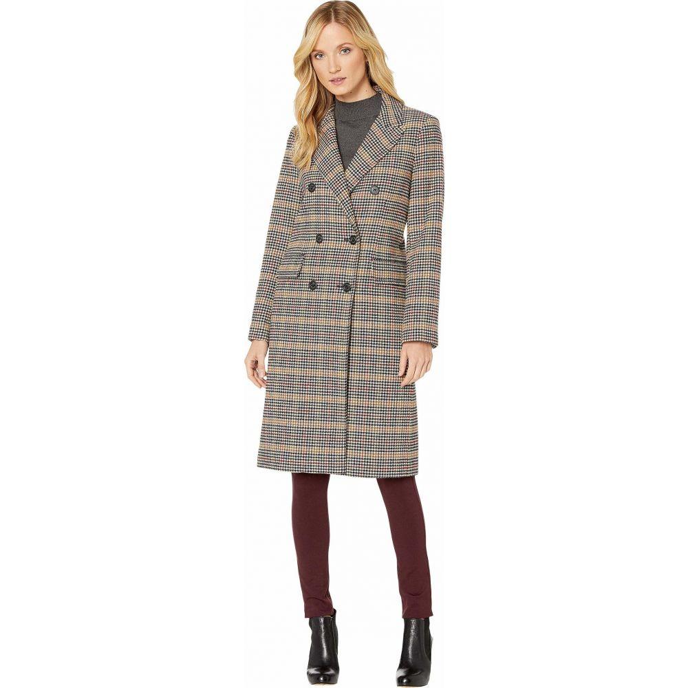 ラルフ ローレン LAUREN Ralph Lauren レディース コート アウター【Plaid Wool Coat】Sienna Plaid