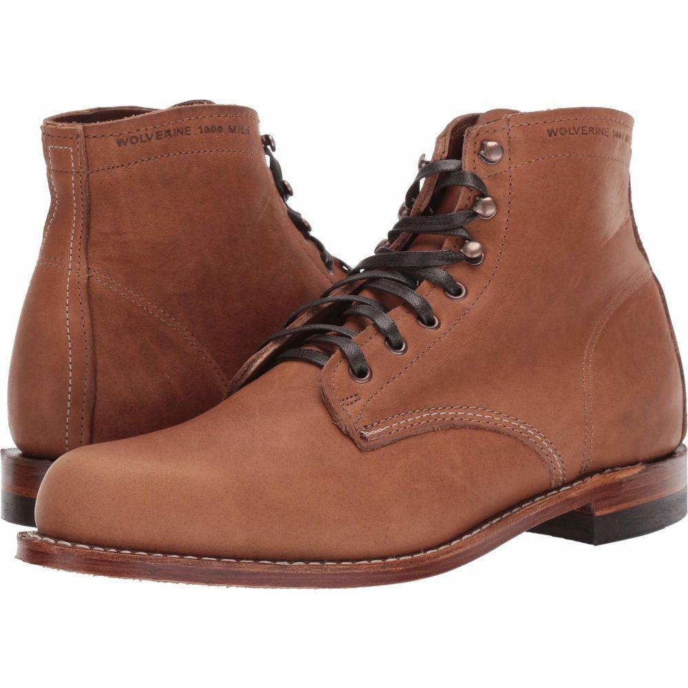 ウルヴァリン ヘリテージ Wolverine Heritage メンズ ブーツ シューズ・靴【Original 1000 Mile 6 Boot】Carolina Brown