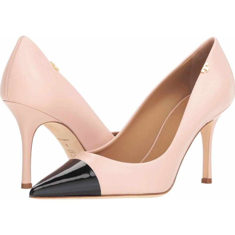トリー バーチ Tory Burch レディース パンプス シューズ・靴【Penelope 85mm Cap Toe Pump】Shell Pink/Perfect Black