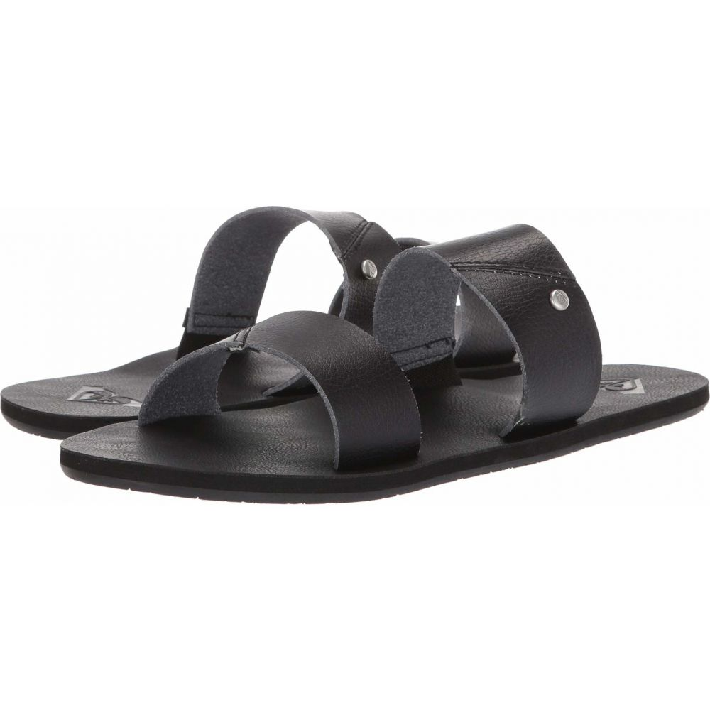 ロキシー Roxy レディース サンダル・ミュール シューズ・靴【Fawn】Black
