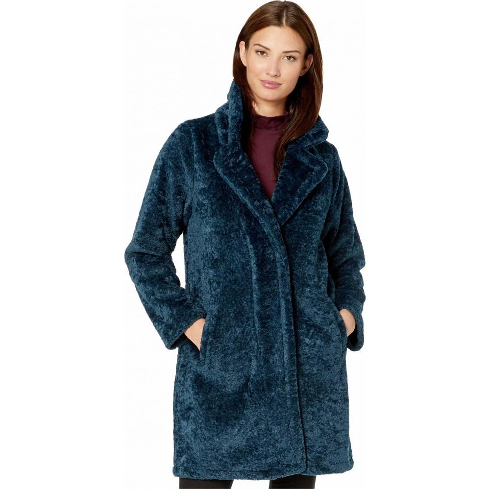 マイケル コース MICHAEL Michael Kors レディース コート アウター【Faux Sherpa Button Front Coat M52960T】Teal