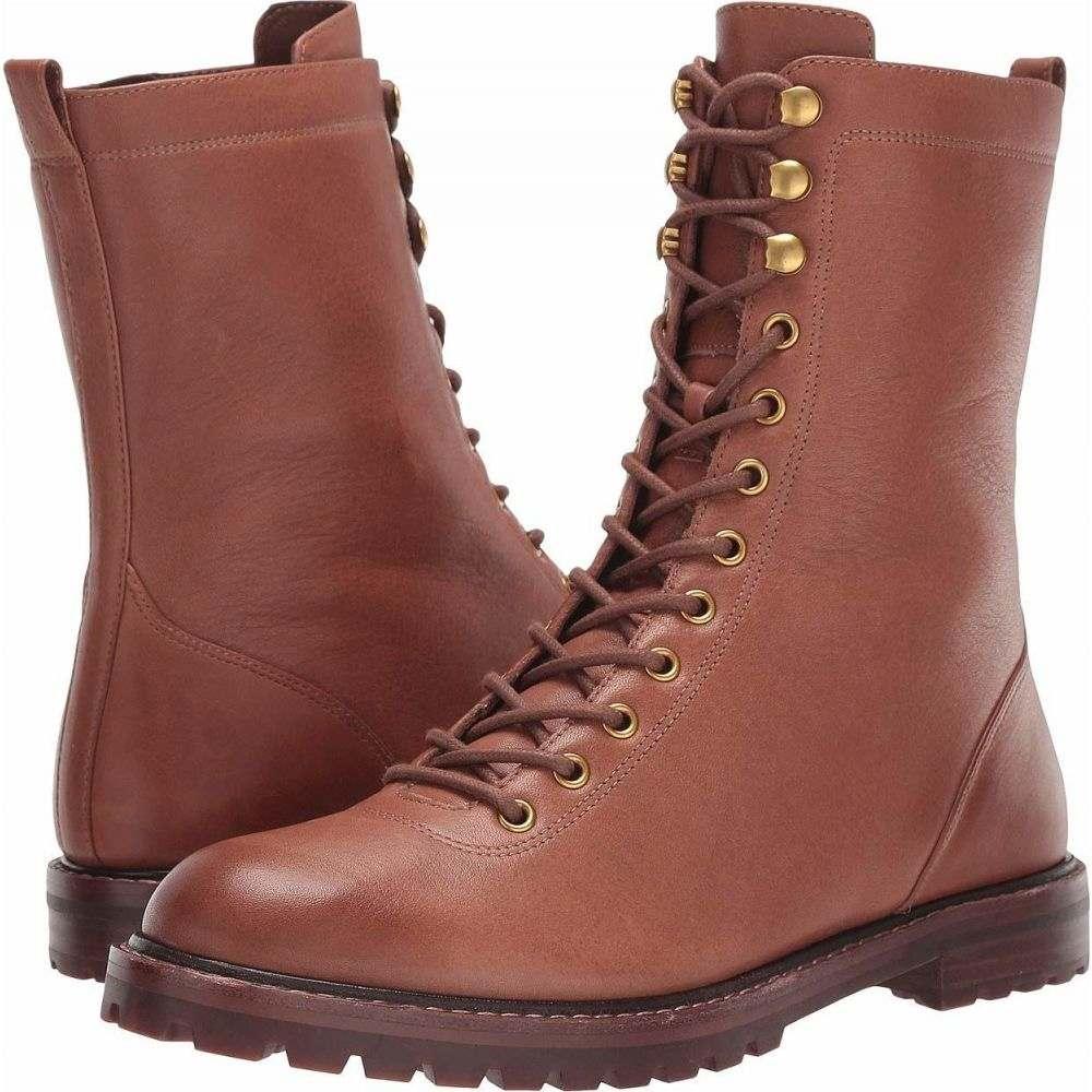 ジェイクルー J.Crew レディース ブーツ レースアップ シューズ・靴【Leather Lace-Up Micah Boot】Burnished Brown