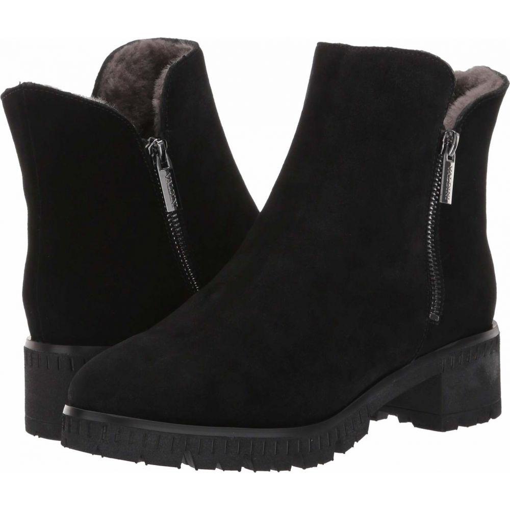 VALDINI レディース ブーツ シューズ・靴【Ivory Waterproof Boot】Black Suede