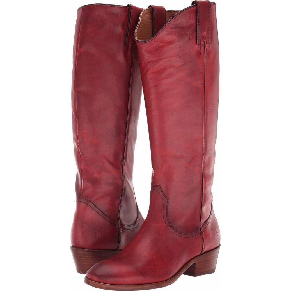フライ Frye レディース ブーツ シューズ・靴【Carson Pull-On】Crimson Leather Extended