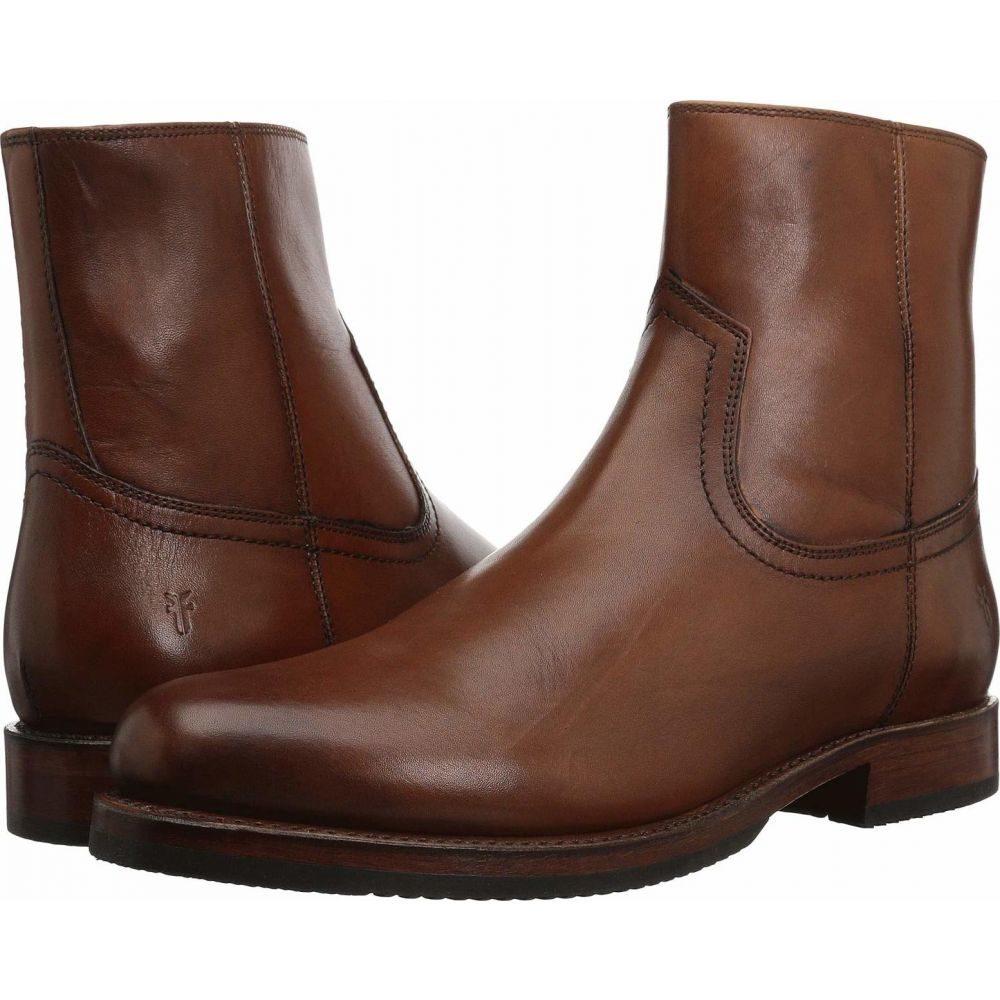 フライ Frye メンズ ブーツ シューズ・靴【Sawyer Inside Zip】Cognac Dip-Dye Leather