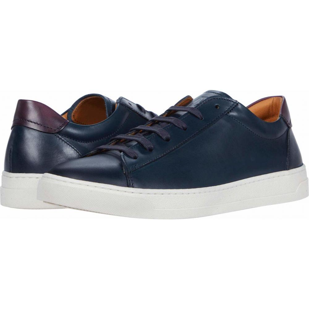 ブルーノ マリ Bruno Magli メンズ スニーカー シューズ・靴【Diaz】Navy Chile Leather