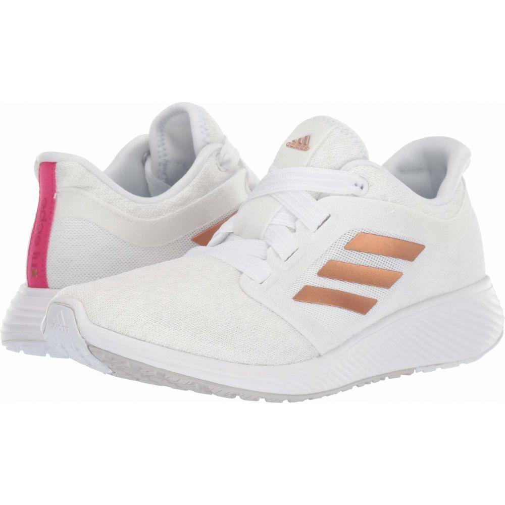 アディダス adidas Running レディース ランニング・ウォーキング シューズ・靴【Edge Lux 3】Footwear White/Copper Metallic/Crystal White