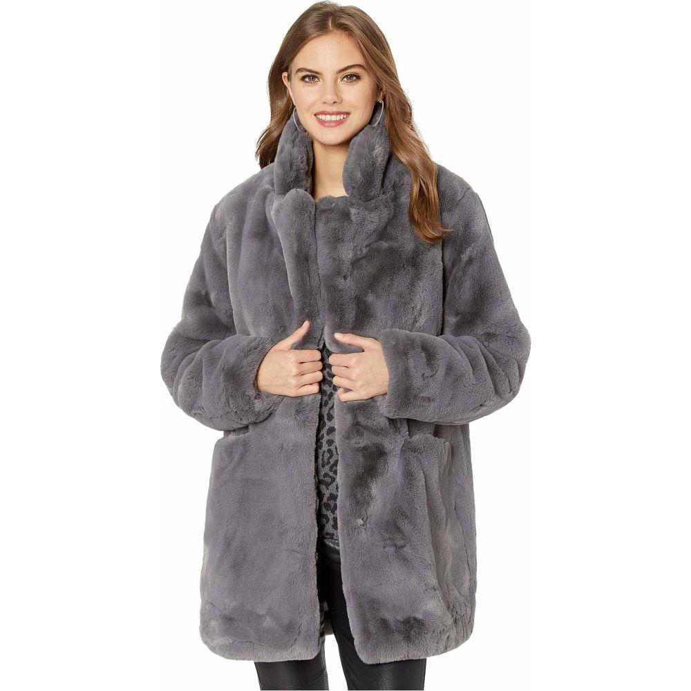 アパリス APPARIS レディース コート ファーコート アウター【Sophie 2 Faux Fur Coat】Carbon